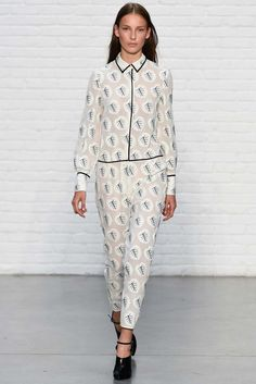 Yigal Azrouël Spring 2015 Ready-to-Wear - Collection - Gallery - Look 1 - Style.com
