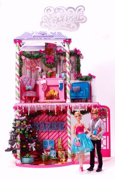 charitybuzz | Barbie™ Very Merry Cabin