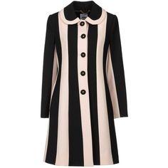 MOSCHINO Coat ($821) found on Polyvore
