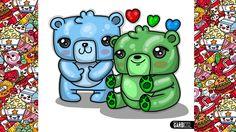 How To Draw Gummy bears - Kawaii Drawings by Garbi KW