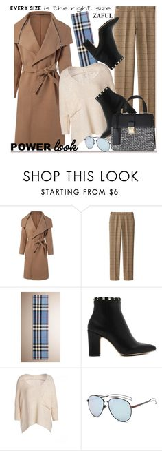 """Your Signature Power Look 4"" by paculi ❤ liked on Polyvore featuring Uniqlo, Burberry and powerlook"