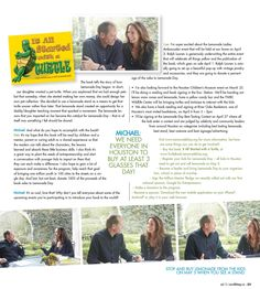 It All Started with a Turtle and Lemonade Day featured in 002 Magazine April 2013 edition - page 2
