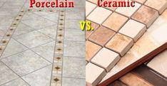 Choosing Between Porcelain Tiles And Ceramic Tiles