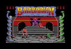 Barbarian. Commodore 64.