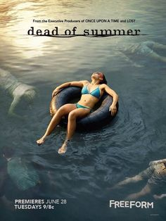 Watch a preview and get five first season posters for the new Dead of Summer TV show, premiering on Freeform, June 28. How do you like the sound of this summer camp horror series?