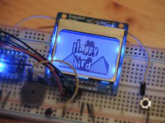 Arduino – Flappy Bird Game on Arduino Nano Arduino Projects, Electronics Projects, Arduino Lcd, Flappy Bird, Challenge Me, Electronic Art, Raspberry, Projects To Try, Games