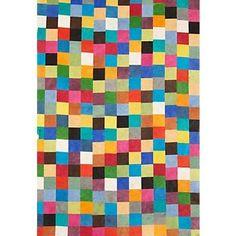 Paper Lokta Multicolor Squares Fine Paper http://itz-my.com