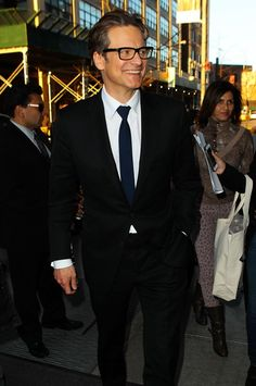 Colin Firth + glasses