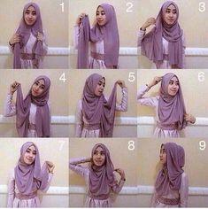 Cara Memakai Hijab Pashmina Cantik