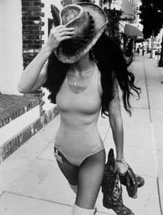 Cher in NYC, 1970s