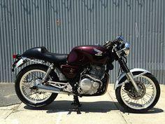 honda cb 500 single cylinder cafe racer - Google Search