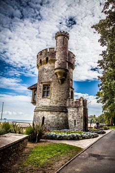 """Ryde Isle of Wight. We're here now, at Appley Tower at the dog beach. Piglet is having a whale of a time on the sand. We love """"Appley Crumbley!"""""""