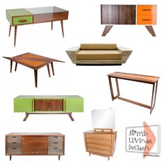 I love all of this! Furniture by Atomic Living Design.