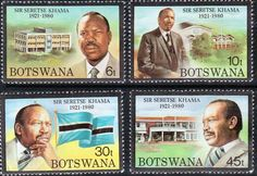 Postage Stamps Botswana 1981 Heinrich von Stephan Set Fine Mint Stamps For Sale Take a Look