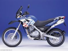 2003 BMW F650GS Dakar - great bike