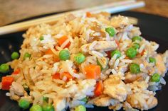 4/2/2013: Vietnamese fried rice. So so easy and delicious! Will make again definitely. Would love to try different proteins. Shrimp would be great.