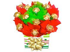 Christmas Stars Chocolate Bouquet