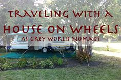 Is it a small camper van style Gipsy-VW of the old times, a caravan, a converted bus or a luxury RV? Did you or do you want to develop it yourself? It gives Grey World Nomads the maximum of freedom to travel. No wonder that it's often the favorite choice. #caravaning #greynomads #camping