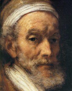Rembrandt Harmenszoon Van RIjn (Leiden 1606-1669 Amsterdam) ~ 1661, Portrait of Jacob Trip, Detail