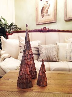 CHERYL SAYS:  For next year.  Cone-Christmas-Trees-550x745