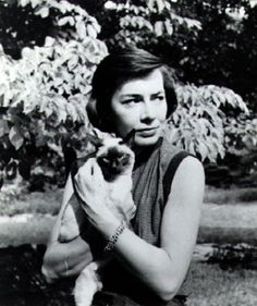 "Patricia Highsmith with ""Ripley"""