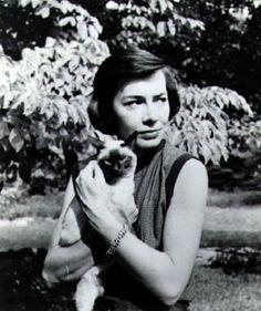 "Patricia Highsmith with ""Ripley"""