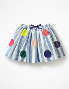 Bright Sequin Spotty Skirt