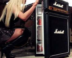 It's an Amp - No it's a Fridge - Jim Marshall Signature control knobs that go to 11