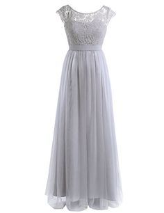 41660f526b35 Shop a great selection of YiZYiF YiZYiF Women Crochet Lace Wedding  Bridesmaid Formal Gown Prom Party Maxi Dress. Find new offer and Similar  products for ...