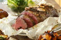 Slow Roasted Scotch Fillet with Vino Cotto & Rosemary