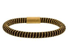 Carolina Bucci - Brown and Yellow Gold Plated Twister Bracelet in Gift Guides The Holiday Party! at TWISTonline