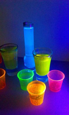 List of things that glow in black light