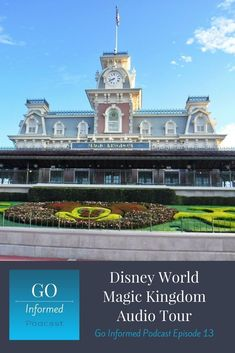 Audio tour of the Magic Kingdom at Disney World.Learn about the layout of the park, what attractions you'll find here, and tips for dining, shopping, and touring in Magic Kingdom. This is episode 13 of the Go Informed podcast. Magic Kingdom Secrets, Disney World Magic Kingdom, Disney World Parks, Disney World Planning, Disney World Vacation, Disney Vacations, Disney World Tips And Tricks, Disney Tips, Florida Travel Guide