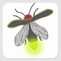 Shop lightning bug flight lit square sticker created by CatchingLightningBug. Bugs Drawing, Drawing For Kids, Drawing Tips, Drawing Ideas, Firefly Art, Bug Tattoo, Catching Fireflies, Butterfly Drawing, Wood Burning Patterns