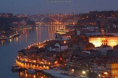 Rio Douro, Porto, Portugal.