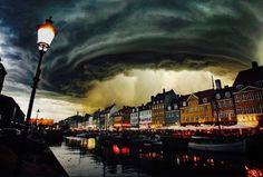 Copenhagen, Denmark, The Heavens Open?!