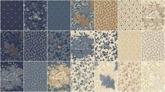 Blue Barn Prints Charm Pack - Edyta Sitar of Laundry Basket Quilts - Moda Fabrics — Missouri Star Quilt Co.