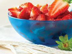 20 Scrumptious Strawberry Recipes: Strawberry Salsa http://www.prevention.com/food/healthy-recipes/farmers-market-recipe-finder-strawberries?s=11