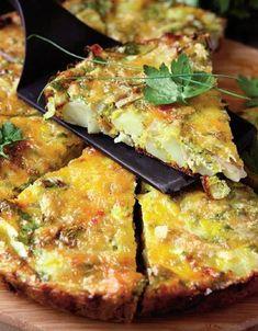 Tartă de cartofi Healthy Diet Recipes, Vegetable Recipes, Baby Food Recipes, Cooking Recipes, Yummy Appetizers, Appetizer Recipes, Cooking Bread, Good Food, Yummy Food