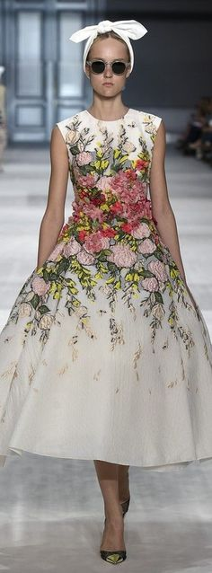 white net dress with pink flowers
