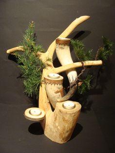 Wikinger Adventsschmuck von Scandinavicwoodworks auf Etsy