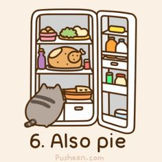 Pusheen Loves Fall...and Pie!