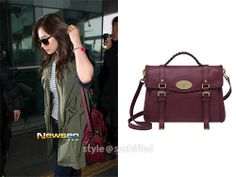 Mulberry:Oversize Alexa with Woven Trim