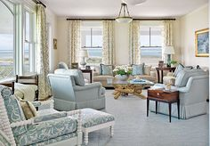coastal living room - Google Search
