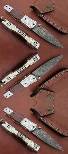 Custom Pocket Knives are also called Folding knives which are very popular For women and also called knives for hunting. survival knives or knives survivals, anniversary gift, surprise gift. Custom Pocket Knives, Personalized Pocket Knives, Engraved Pocket Knives, Folding Pocket Knife, Folding Knives, Handmade Knives, Handmade Gifts, Damascus Pocket Knife, Combat Knives