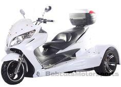 "2015 Ice Bear Jumbo Size Design 300cc Motor Trike ""ZODIAC-300"" Automatic w/ Reverse, Rear Differential, PST300-19"