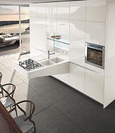 Nueva #tendencia en #diseño de #cocinas: cocinas abiertas.
