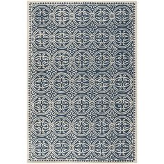 Safavieh Handmade Moroccan Cambridge Navy Blue Wool Rug - Overstock™ Shopping - Great Deals on Safavieh 7x9 - 10x14 Rugs