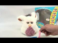 2005 Furby Stuffed Emoto Tronic Animated Toy - Tiger Toys - YouTube