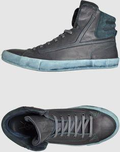 8ef7f0fc44d Yves Saint Laurent Rive Gauche Hightop Sneaker in Gray for Men (steel) -  Lyst